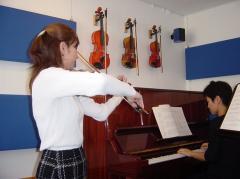音楽教室 スタジオ・ヴィオリーノ 都立大学教室