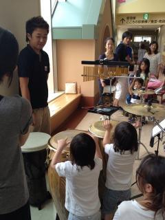 ドラム、パーカッションスクール