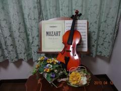 A-durバイオリン・チェロ教室